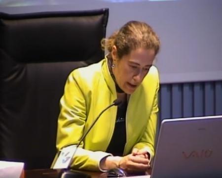 Begoña Fernández Rodríguez, departamento de Historia da Arte da Universidade de Santiago de Compostela